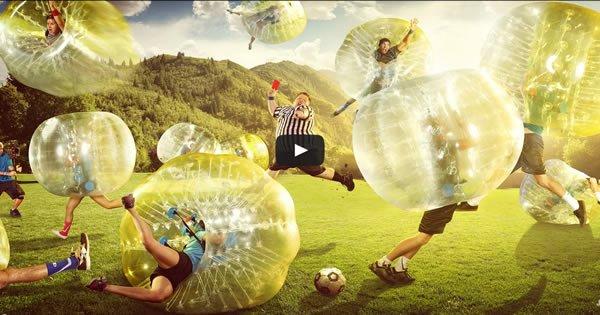 Zorb Soccer - O Futebol mais legal de todos os tempos 2