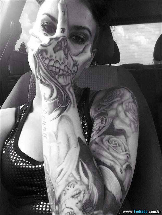 35 incríveis tatuagens em 3D 3
