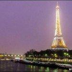 Caminhe pelas ruas de Paris no Ano Novo (16 fotos)