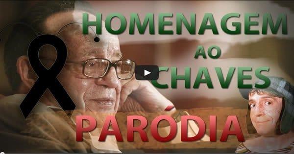 """Paródia de """"Boa noite Vizinhança"""" / Homenagem ao Chaves 5"""