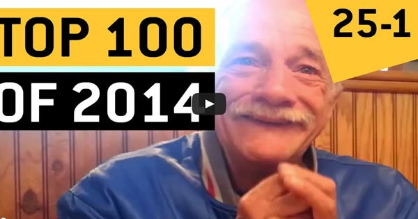 Top100 vídeos da internet 2014