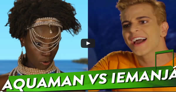 aquaman - aquaman vs iemanja - Aquaman Vs Iemanjá – Epic Repente Battles da História