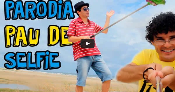 Pau de Selfie | Paródia MAGIC! – Rude