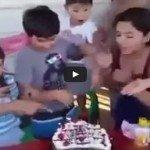 Como terminar uma festa de aniversário infantil em 5 segundos