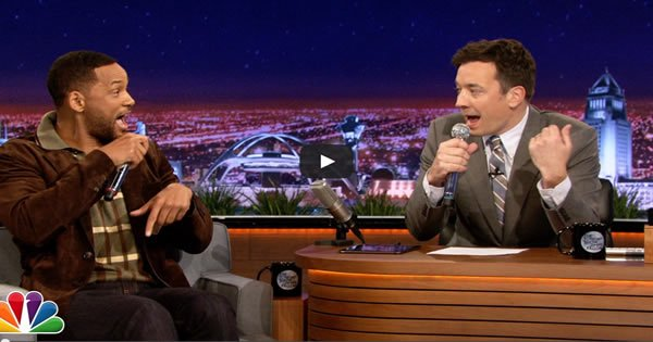 Will Smith e Jimmy Fallon recriam clássico do rap apenas com um iPad