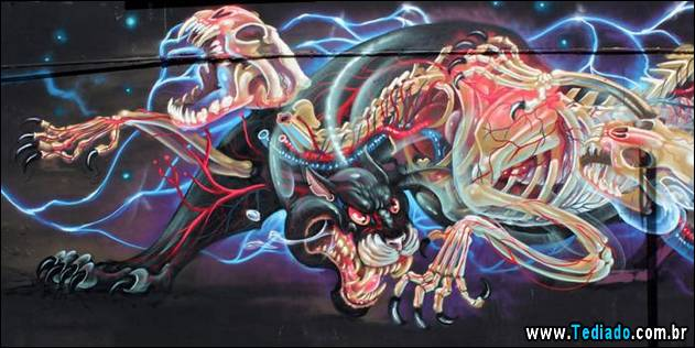 Photo of Arte de rua por Nychos (14 fotos)