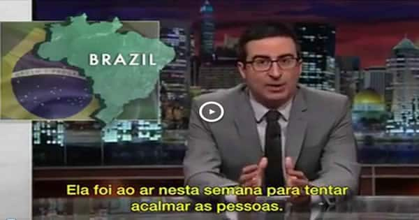 Comediante americano tira sarro do Brasil! 2