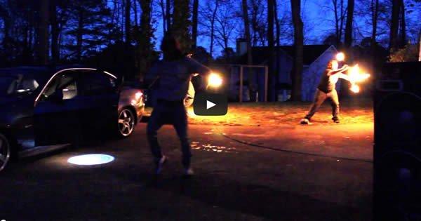 Você dança como eu danço - Pacify | Fire Spinning 1