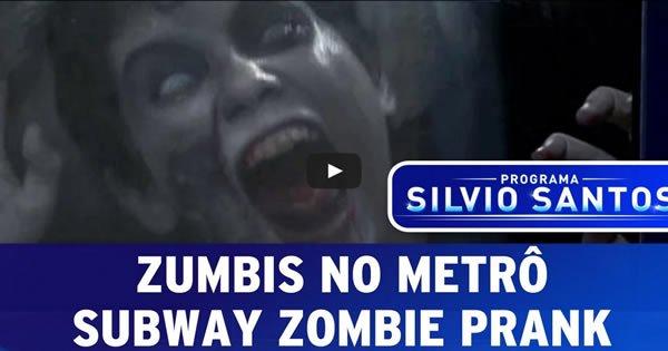 Zumbis No Metrô - Câmera Escondida 3