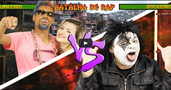 Batalha de Rap - Funk Vs Rock 2