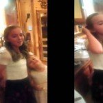 Menina de 11 anos faz cover de Rolling In The Deep surreal