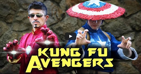 Kung Fu Avengers: Iron Man VS Captain America 2