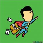 Superheroes na vida cotidiana (23 fotos)