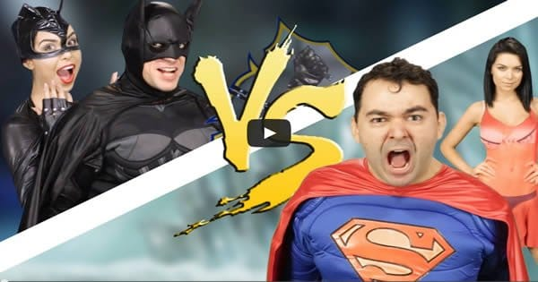Batalha de rap: Batman Vs Superman