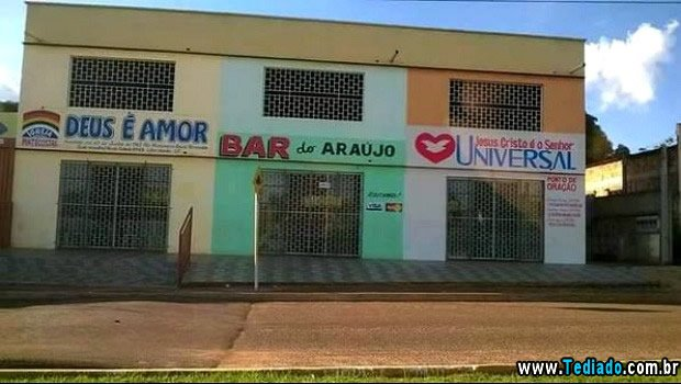 Bar do Araujo – Antes e agora