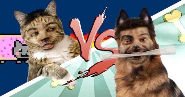 Batalha de Rap: Gato Vs Cão 3