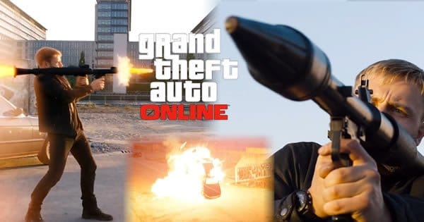 Como seria o trailer do filme GTA V