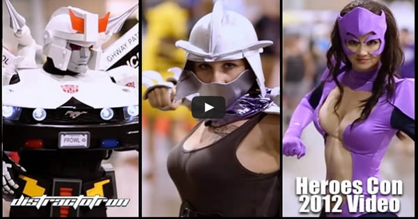 HeroesCon 2015 Cosplay Video