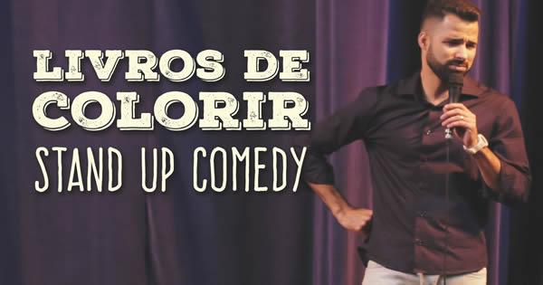 Stand up Comedy - Livros de colorir com Fernando Strombeck 2