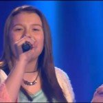 A menina tem uma voz incrível