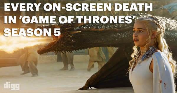 Todas as mortes da 5º temporada de Game of Thrones 5