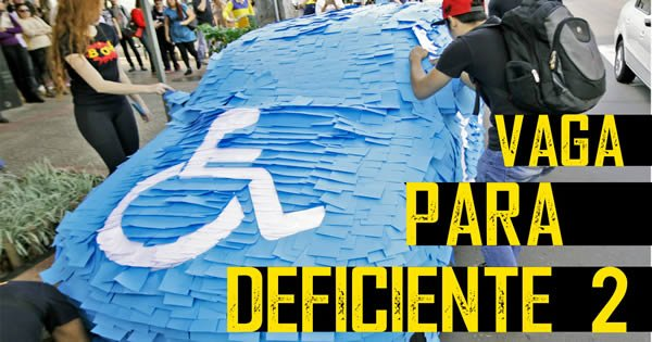 Pegadinha - Vaga Para Deficiente 3