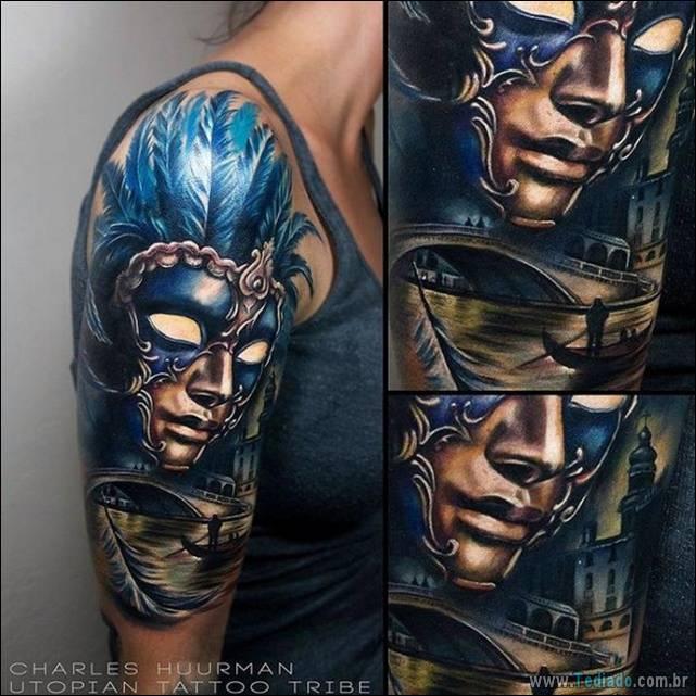 17 tatuagens realistas 3D 2