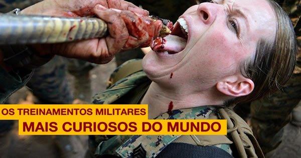 Os treinamentos militares mais curiosos do mundo 1