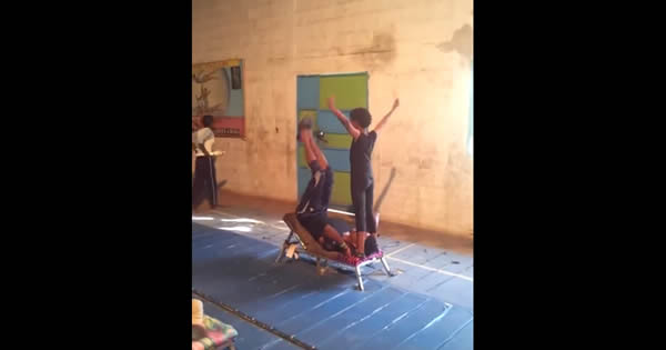 Yeneta brothers - Cirque du Soleil 1