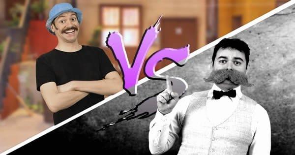 Batalha de rap - Seu Madruga Vs Nietzsche 1