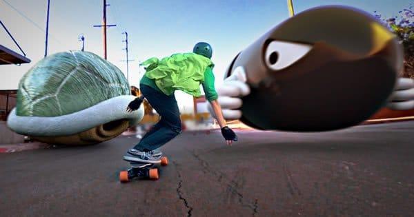 Mario Skate na vida real 1