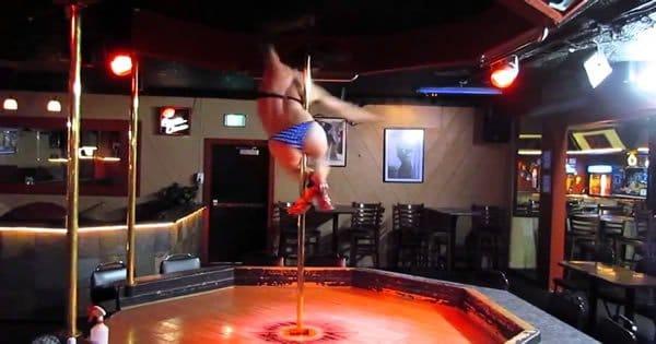 Uma dança no pole dance como você nunca viu 3