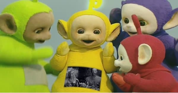 Teletubbies cantam I Fink U Freeky