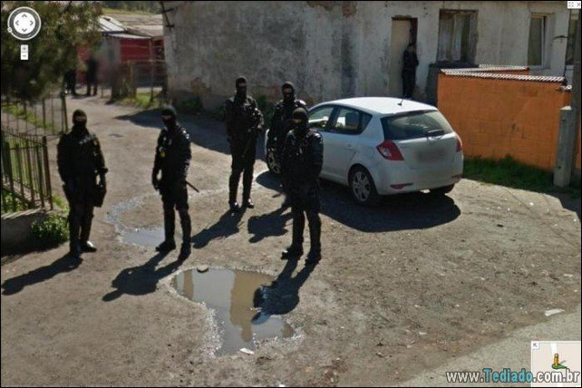 20 fotos chocantes do Google Maps