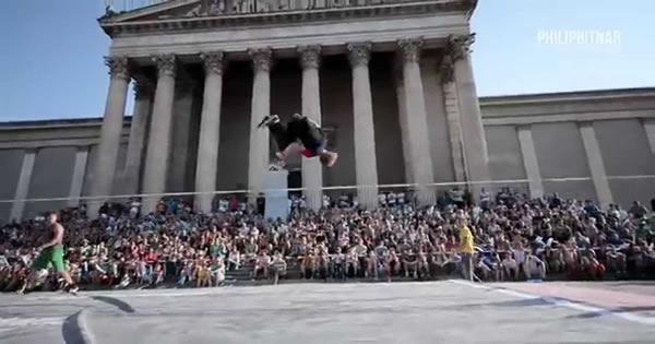Veja como foi o final da competição mundial de Slackline 3