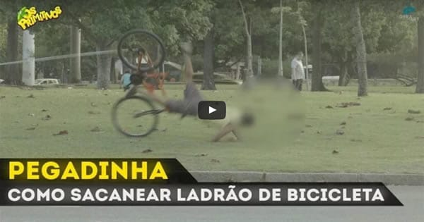 Photo of Pegadinha – Como sacanear ladrão de bichicleta