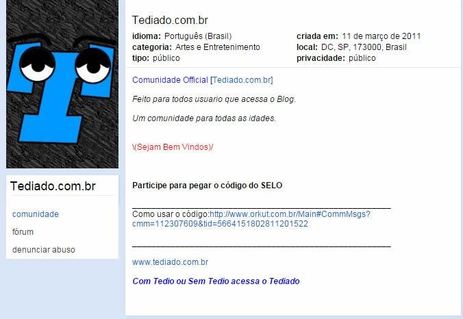orkut-tediado