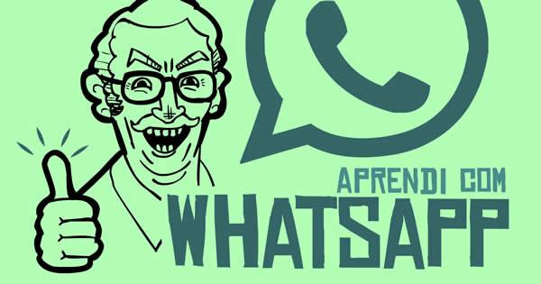 Varias coisas que aprendi com o WhatsApp 2