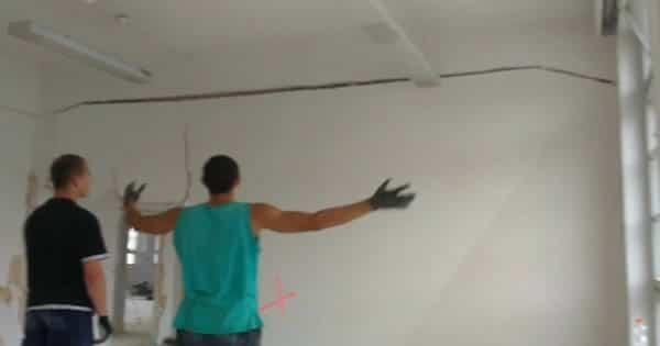 Como demolir uma parede com estilo 1