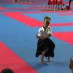 A garotinha Ninja de apenas 9 anos
