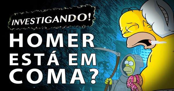 Teoria Simpsons: Homer está em coma? 3