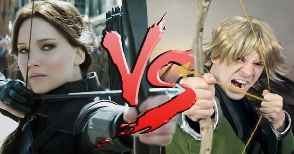 Katniss Everdenn Vs Hank da Caverna do Dragão