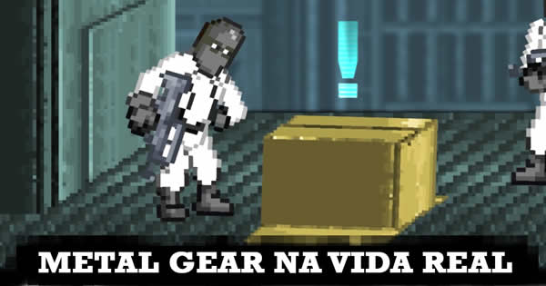 Metal Gear na vida real