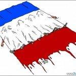 12 obras de arte comoventes em homenagem às vítimas de Paris