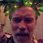 Apenas uma foto do Arnold Schwarzenegger para o Natal