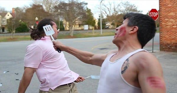 Batalha com espátula 3