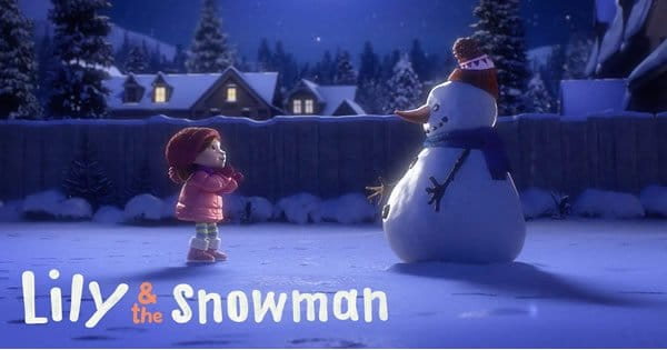 Amizade entre uma garotinha e seu Boneco de Neve 7
