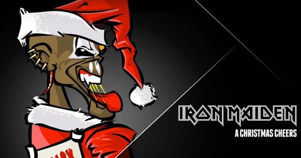 O jeito do Iron Maiden de desejar um Feliz Natal 5