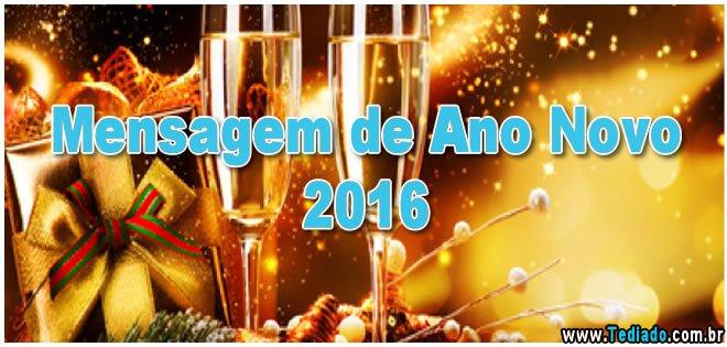 Mensagem de ano novo 2016 12