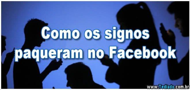 Como os signos paqueram no Facebook 2